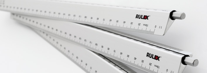 Rotarule scale rulers group