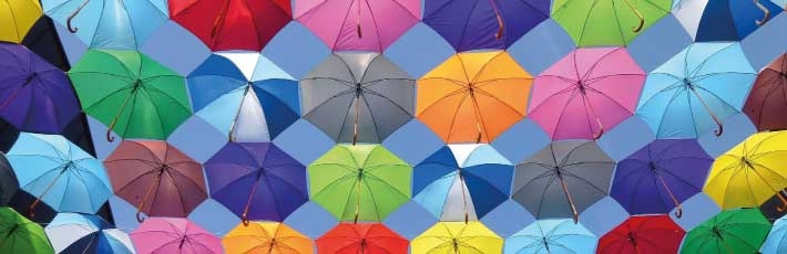 History of the promotional umbrella